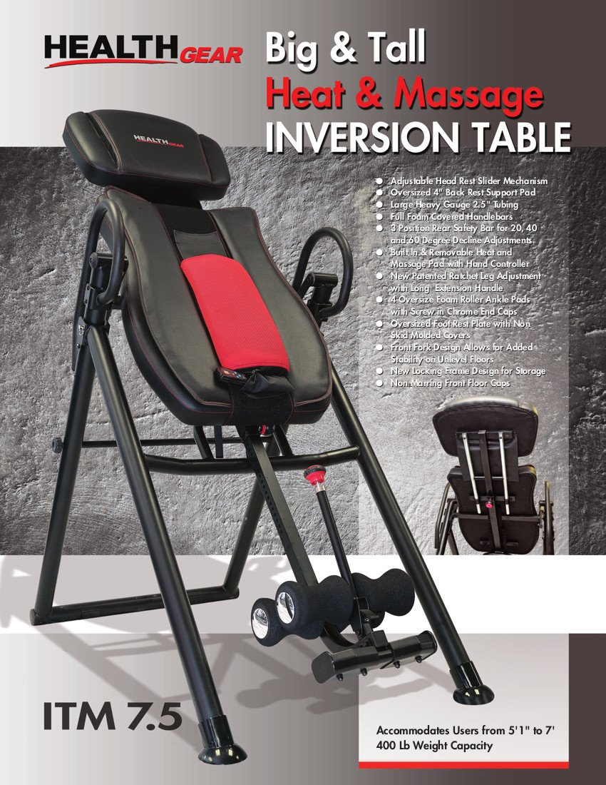 Inversion Tables For Tall People | People Living Tall