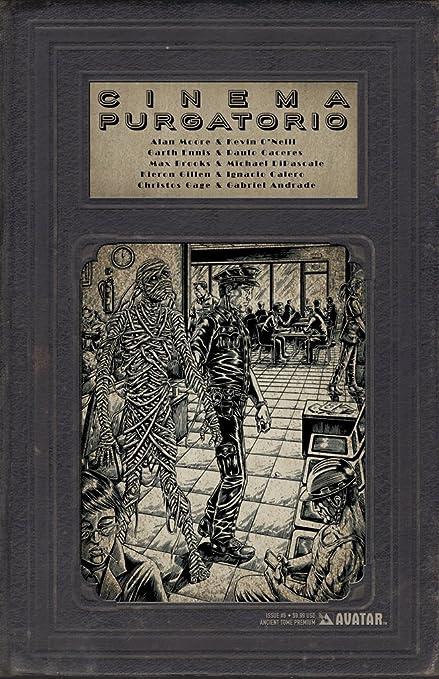 Amazon.com: Cinema Purgatorio #6 Ancient Tome Premium Cover ...