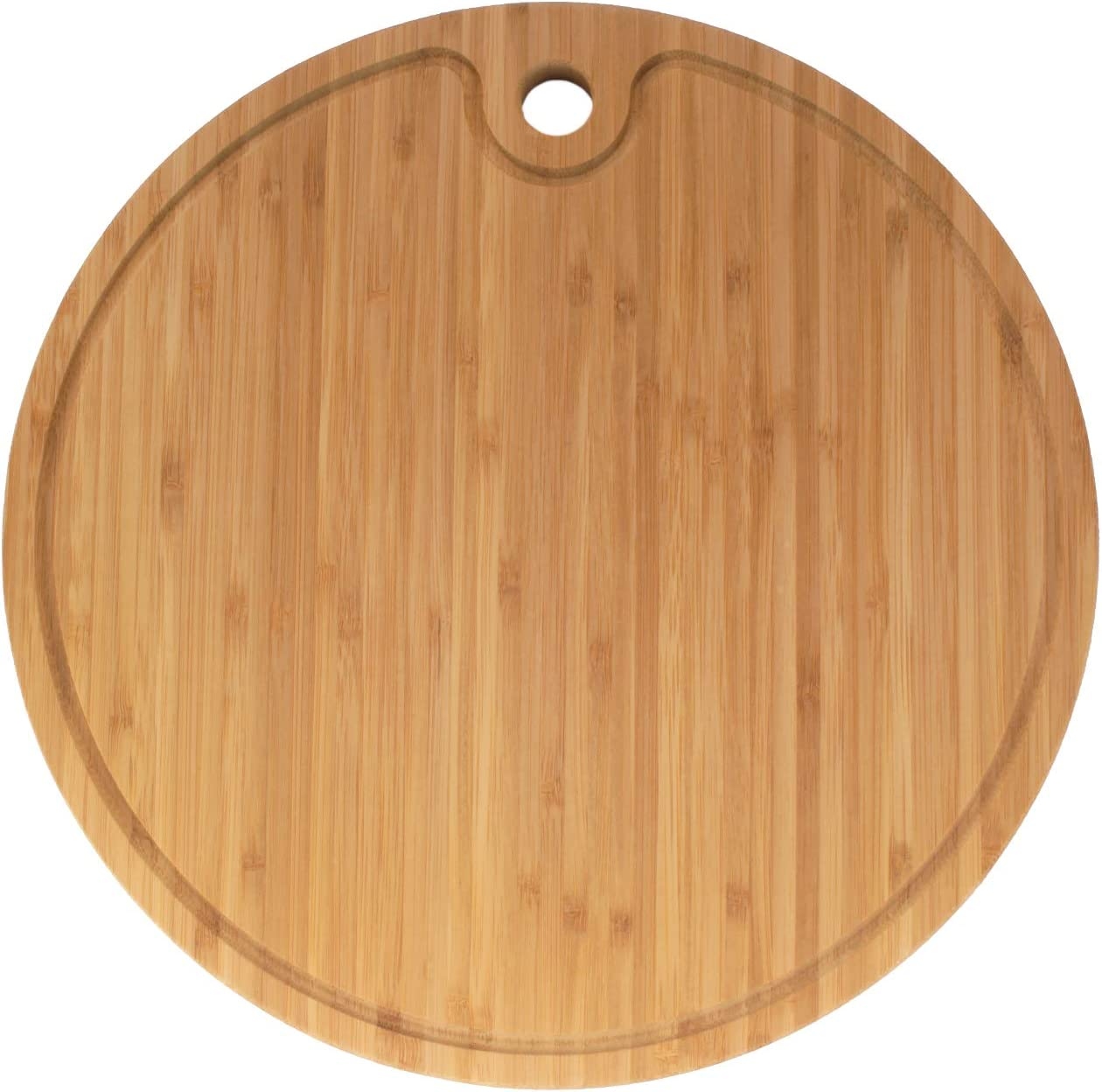 2pcs Bamboo Wood Round Servierplatte für Tea Leaf Obst Gemüse 2 Größen