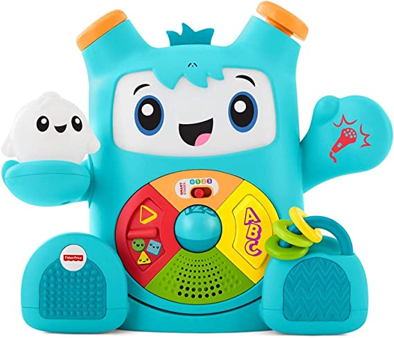 Fisher-Price- Rocky Roquero, Multicolor (Mattel FXD05): Amazon.es ...