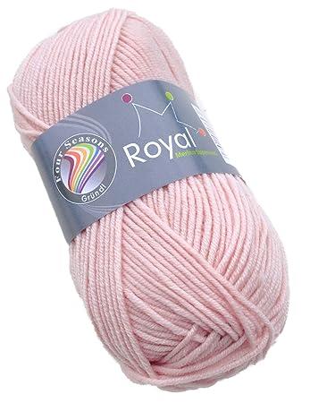 Gründl Royal Merino Superwash Wolle Fb 02 Puderrosa Merinowolle