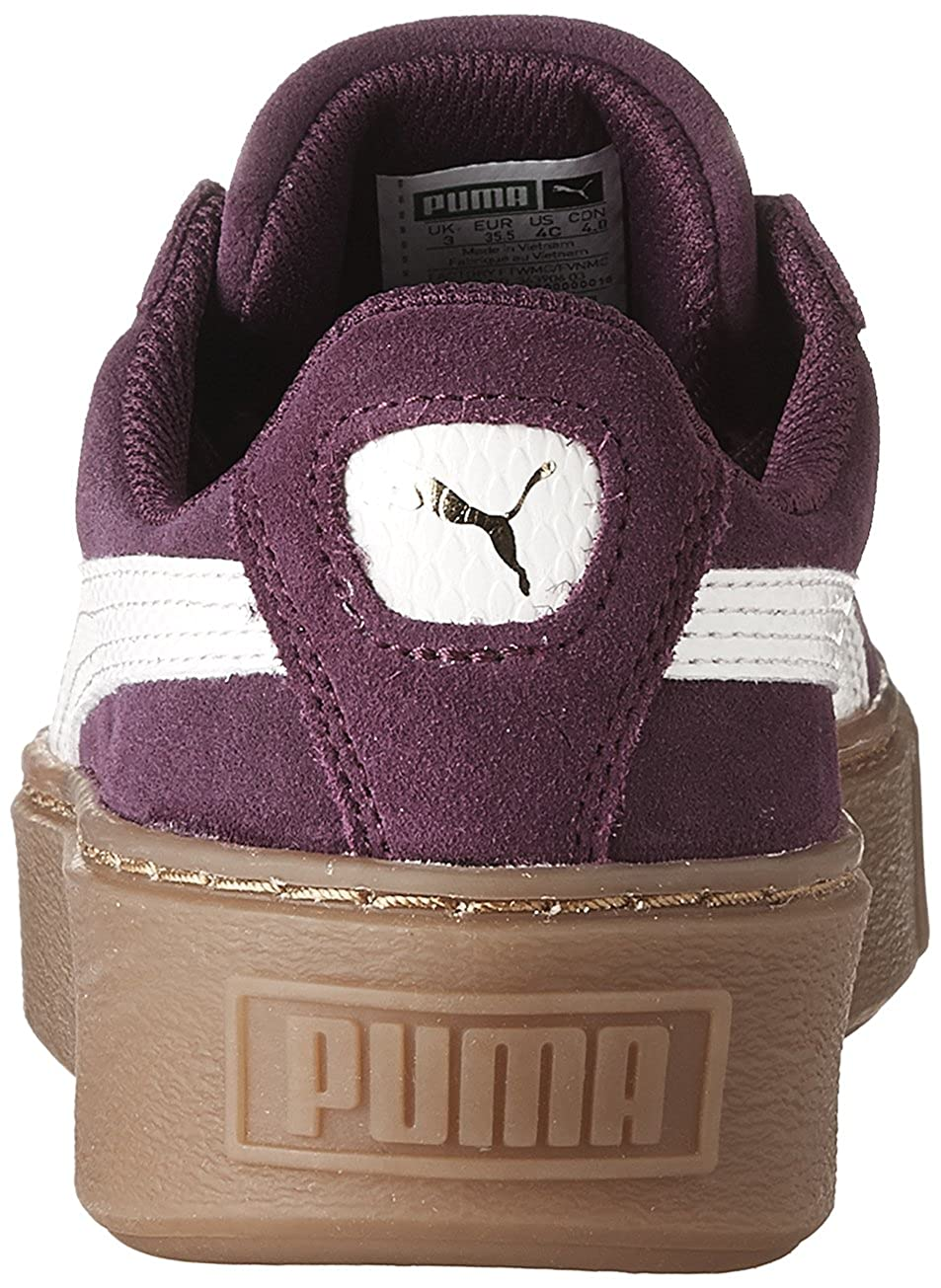 d127ad57d17859 PUMA Suede Platform SNK Kids Sneaker