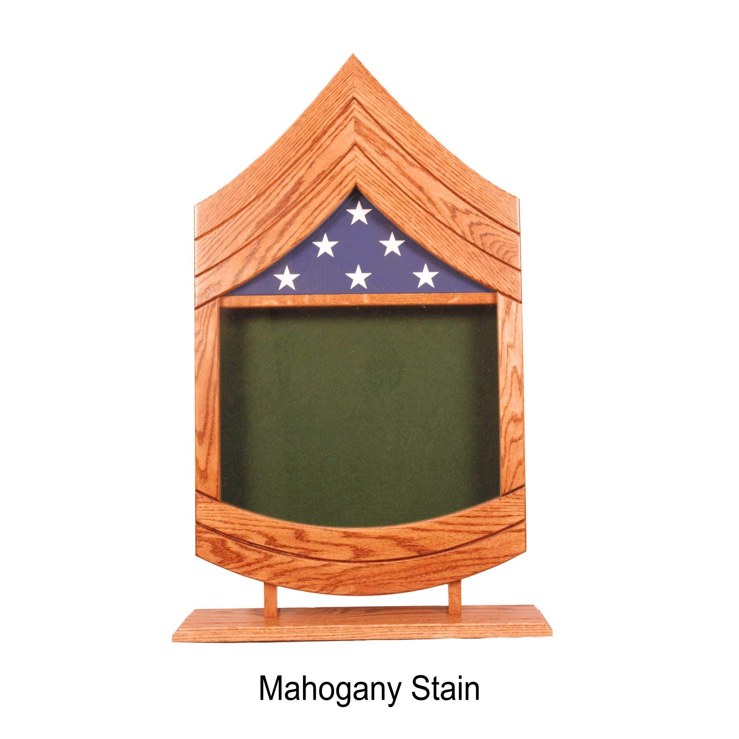 E-7 Army Sergeant First Class (SFC) Shadow Box/Retirement Display by Morgan House Woodprojects (Image #3)