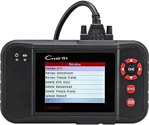 LAUNCH Code Reader Creader VII+ OBD2 Scanner Check ABS SRS Transmission Engine Car Diagnostic Scan Tool