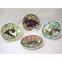 Plato Redondo Decorativo Porcelana Gatos (EL Precio ES