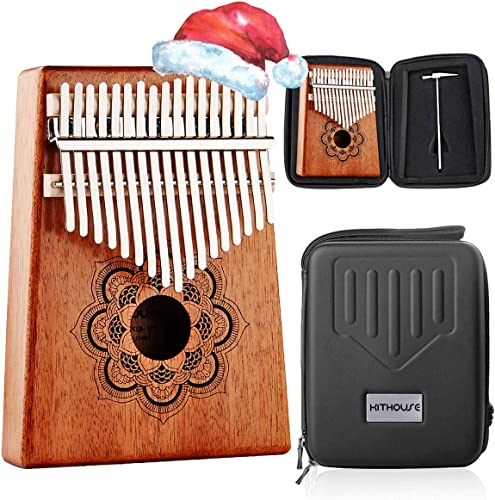 Kithouse Kalimba 17 Keys Thumb Piano