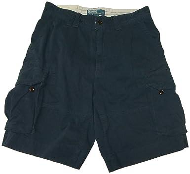855cbdd4c1 Polo Ralph Lauren Men's Gellar Fatigue Cargo Shorts (29, Aviator Navy)