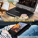 """HD JUNTUNKOR 12.5"""" Portable DVD Player with 5 Hrs"""