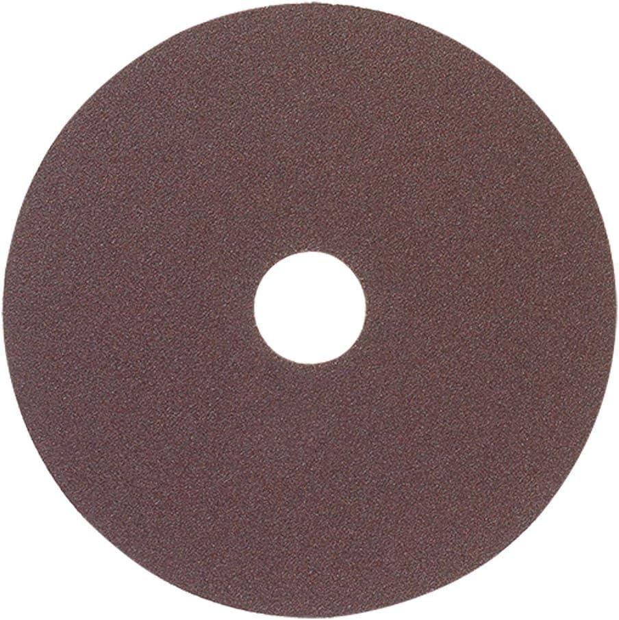 "Mercer Industries 302100 100 Grit Aluminum Oxide Resin Fiber Discs (25 Pack), 5 x 7/8"" 71Tu41xZviL"
