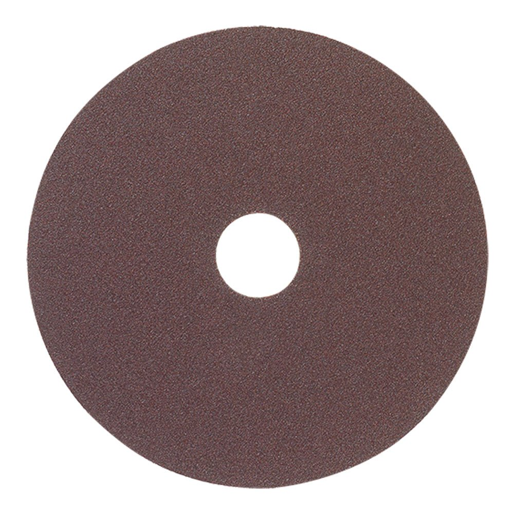 Mercer Industries 302100 100 Grit Aluminum Oxide Resin Fiber Discs (25 Pack), 5 x 7/8''