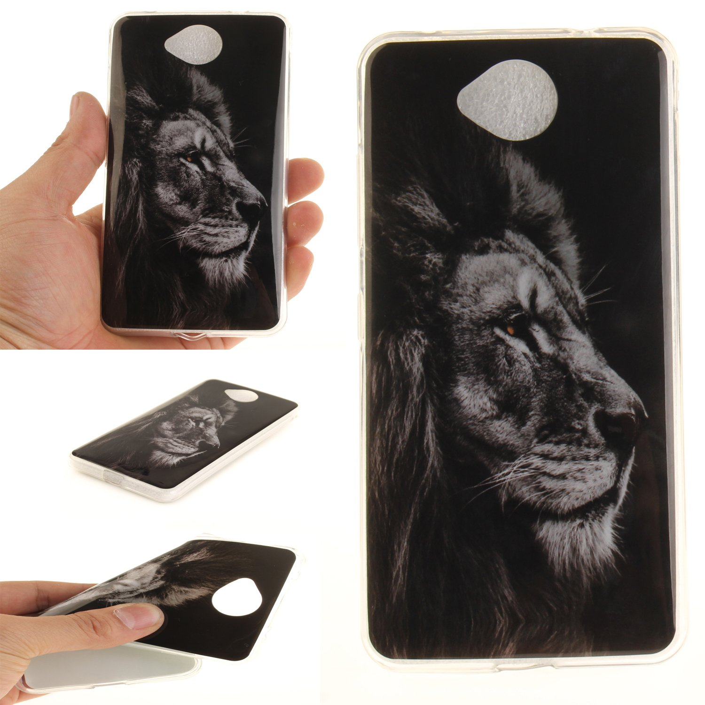 Anlike Schutzhülle für Lumia 650 Hülle, Handy Hülle / Handytasche / Silikon Hülle Case / Schlank Flexibel Handy Tasche Cover für Microsoft Lumia 650 (5 Zoll) - Liebesherz AK-10255