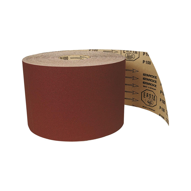 STARCKE Edelkorund Maschinenschleifpapier Korn 80 1 Rolle-50 Meter 1 St/ück breite 150 mm,910397