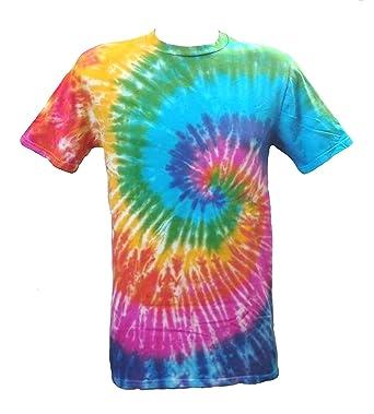 new concept 8cac1 a1695 Tie Dye Acid House Spiral Herren T-Shirt 4XL