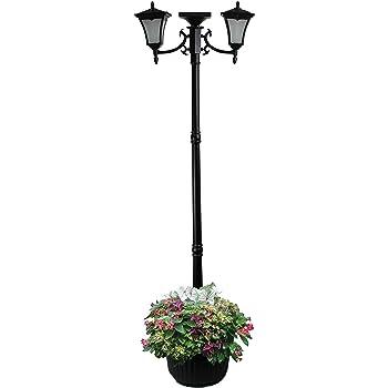 Amazon Com Sunergy 50408190 Madison Solar Lamp Post And