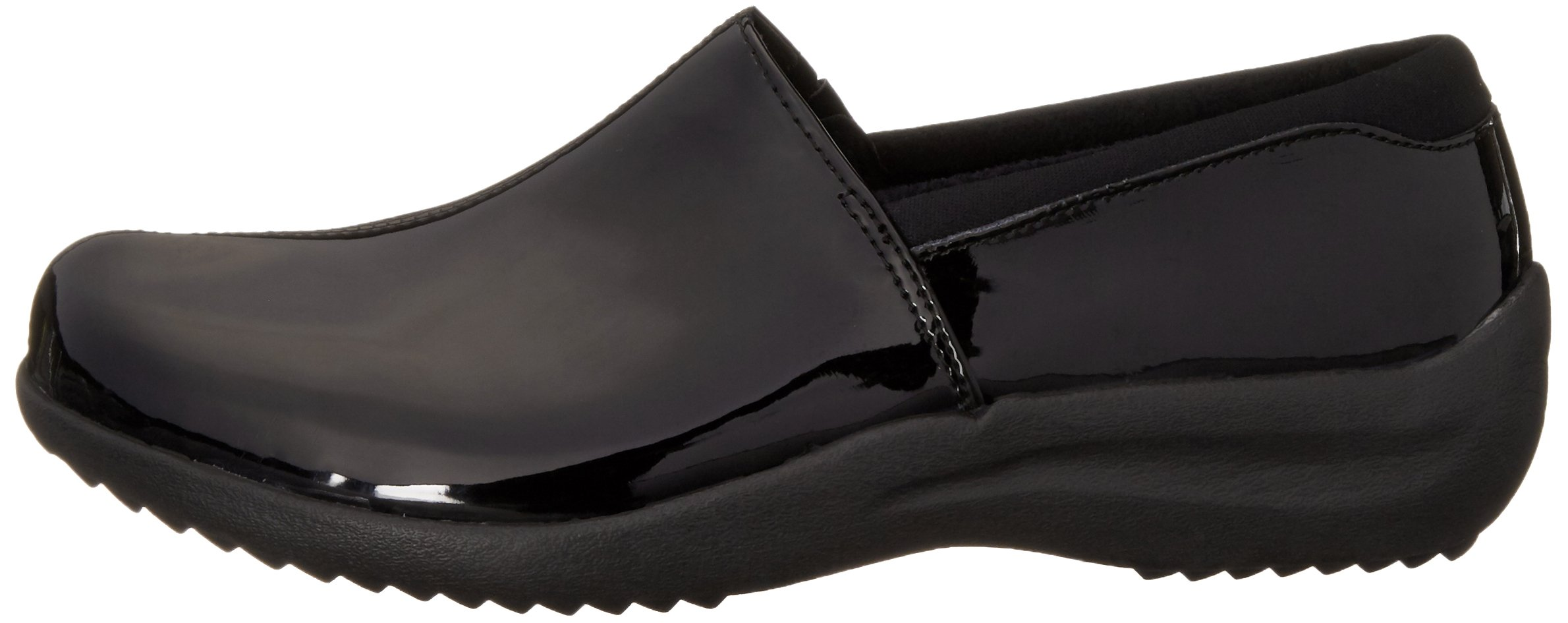 Skechers Women's Savor singular Mule, Black Patent Leather, 6 M US by Skechers (Image #5)