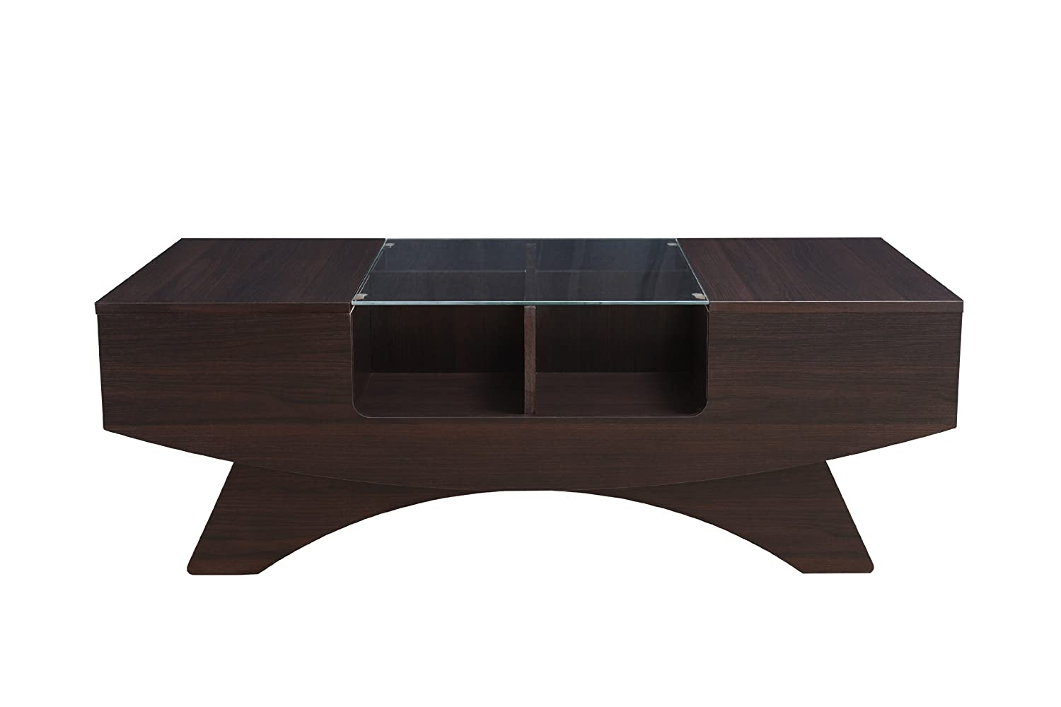 Amazon ioHOMES Markham Contemporary 2 Drawer Coffee Table
