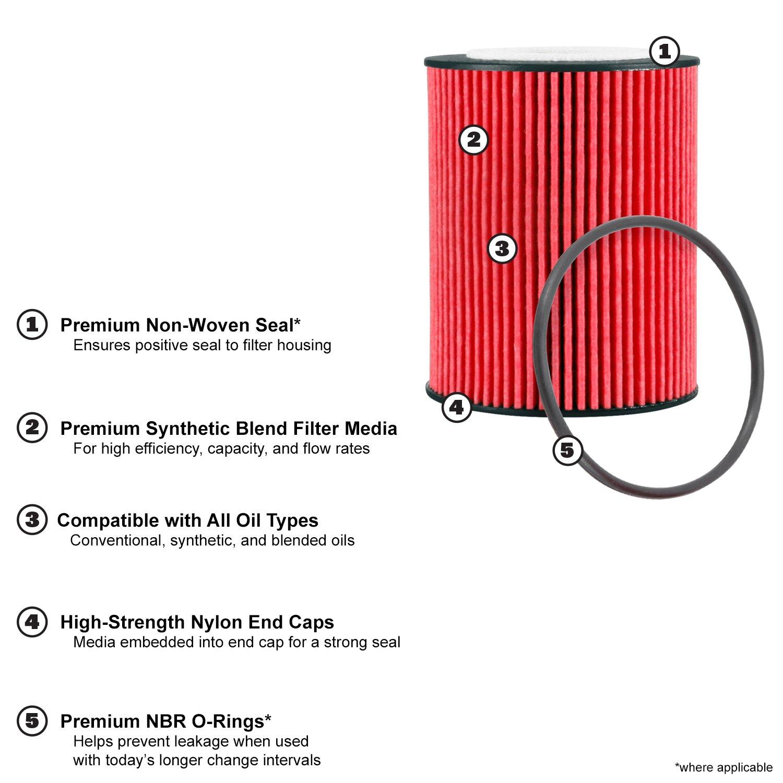 K N /& PS-7006-Filtro olio Auto