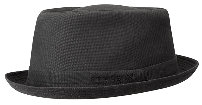 Seersucker Cotton Check Hat by Stetson Pork pie hats Stetson 44o01zPIn
