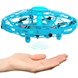 Hand Operated Drone for Kids, Adults & Teenagers - Easy to Play with Hands Free Flying Toy - Unique Valentines Day Idea 2020,