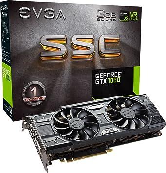EVGA GeForce GTX 1060 SC Graphics Card 3GB