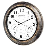 SkyNature Outdoor Clocks, 18 Inch Large Indoor