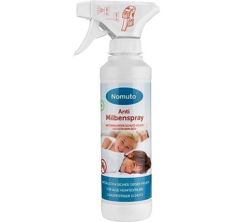 Nomuto - Spray antiácaros, Sustancia Activa Natural, Fabricado en ...
