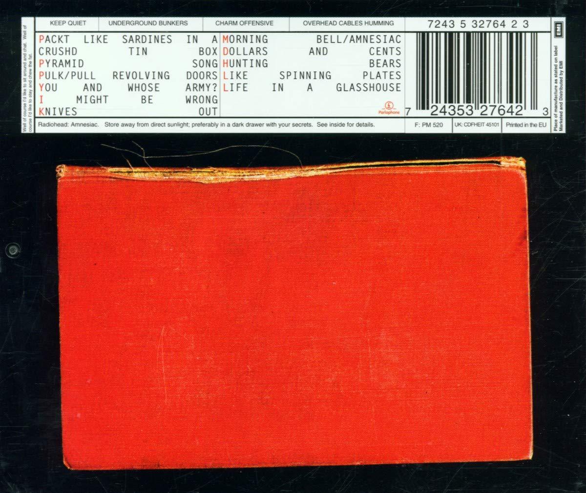 Amnesiac: Radiohead: Amazon.es: Música
