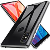 LK Custodia per Xiaomi Mi Mix 2s, Case in Morbido Silicone di Gel AntiGraffio in TPU Ultra [Slim Thin] Cover Protettiva - Trasparente