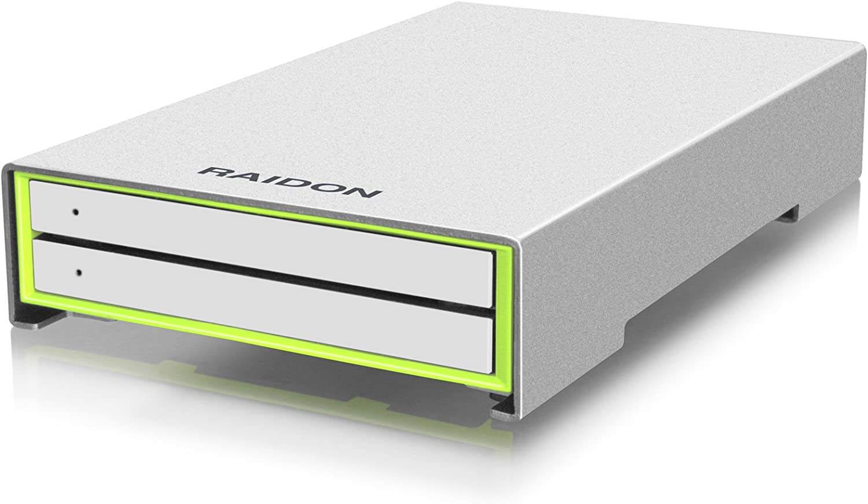 Raidon R2420-B3 - Servidor NAS (2 x 2.5, HDD, SSD): Amazon.es ...