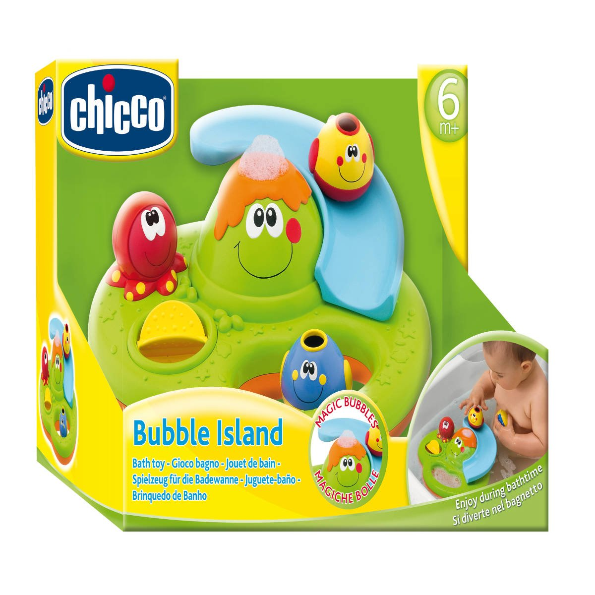 Buy Chicco Bubble Island Bath Toy Online at Low Prices in India ...