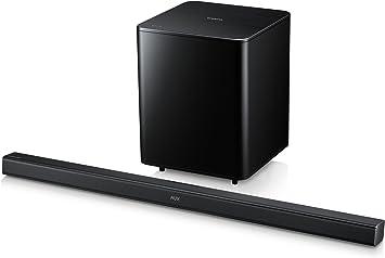 Samsung HW-F550 - Barra de sonido de 310W (Bluetooth), negro: Amazon.es: Electrónica