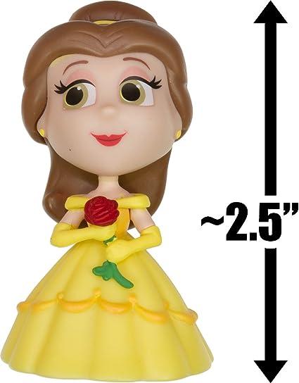 """Disney serie 2-Mini Figuras Funko misterio 2.5/"""" Inc belleza Wall-e Bestia"""