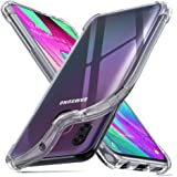 Ferilinso Coque pour Samsung Galaxy A40, Ultra Mince résistant aux Rayures Crystal Clear