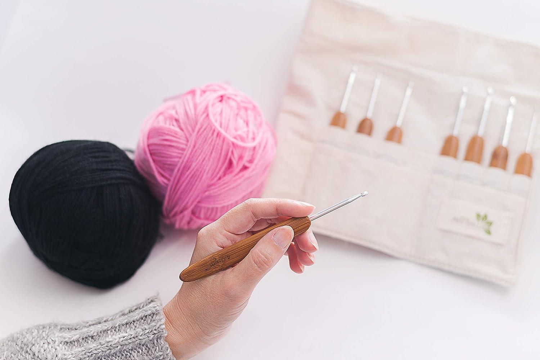 Amazon.com: Gretchens Meadow Knitting - Juego de ganchos de ...