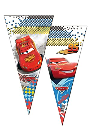 ALMACENESADAN 2355; Pack 6 Bolsas de Cono Disney Cars; Ideal ...