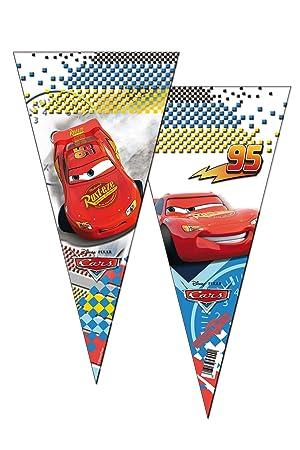 ALMACENESADAN 2355; Pack 6 Bolsas de Cono Disney Cars; Ideal ...