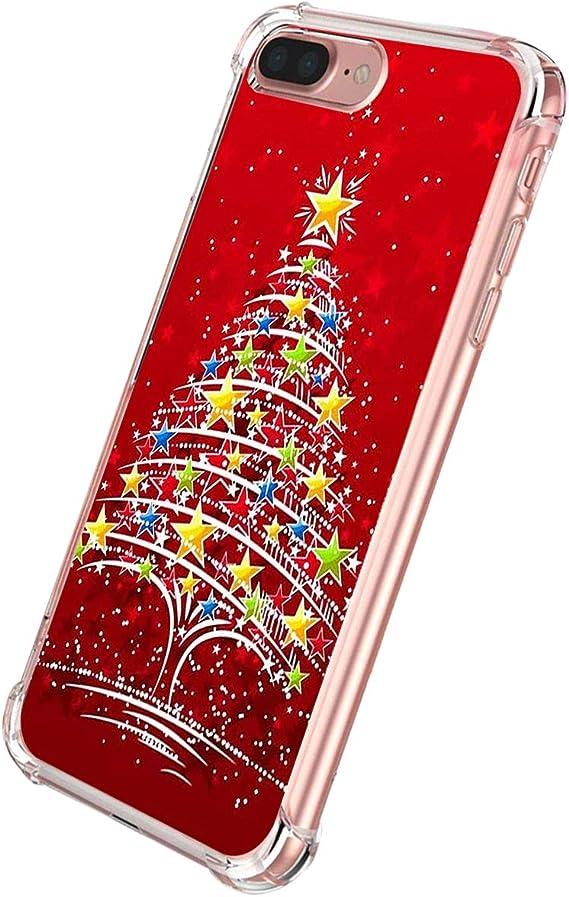 coque iphone 7 transparent rouge