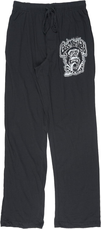 Gas Monkey Garage Mens Pajama Pants in Black