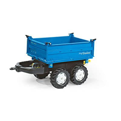 Rolly Toys Mega Trailer, Blue: Toys & Games