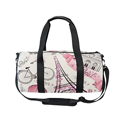 Cooper girl Eiffel Tower Duffels Bag Travel Sport Gym Bag durable modeling  · Backpack ... bc3a2c89e5