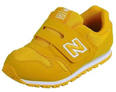 new balance bambino gialle