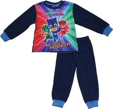 ef22790d6 PJ MASKS Catboy Crew Kids Winter Soft Fleece Long Sleeve Pyjama Set ...