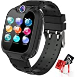 Kids Smart Watch for Boys Girls - Touch Screen Smartwatches with Phone Call SOS Music Player Alarm Clock Camera Games Calcula