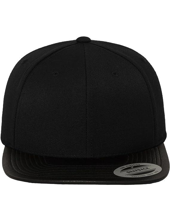 Flexfit Mütze Leather Snapback - Gorra de náutica, Color, Talla DE: One Size: Amazon.es: Deportes y aire libre