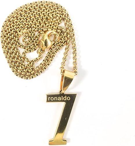 myliori Collar de Cristiano Ronaldo Real Madrid fútbol fútbol ...