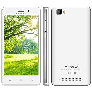 Moviles Libres Baratos 4G V mobile A10 8GB ROM Smartphone Baratos ...