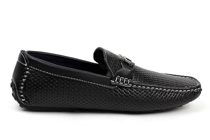 Homme Sans Fermetures Chaussures De Sport De Conception Italienne De Conduite Élégante Mocassins Mocassin D'eau - Brown, 39 Eu