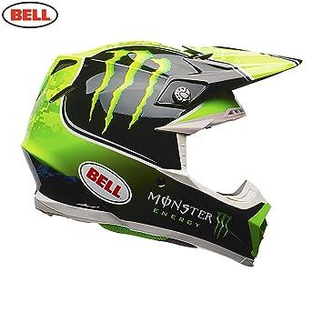 BELL Moto-9 Tomac réplica Casco de Motocross, Black Green, Medium: Amazon.es: Deportes y aire libre