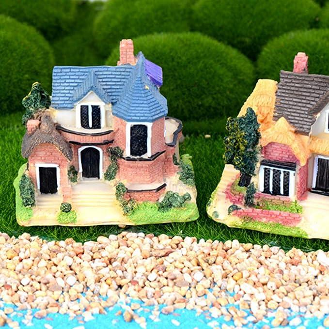 8 Colors PICK Cute Miniature Dollhouse Landscape Fairy Garden Terrarium Bonsai