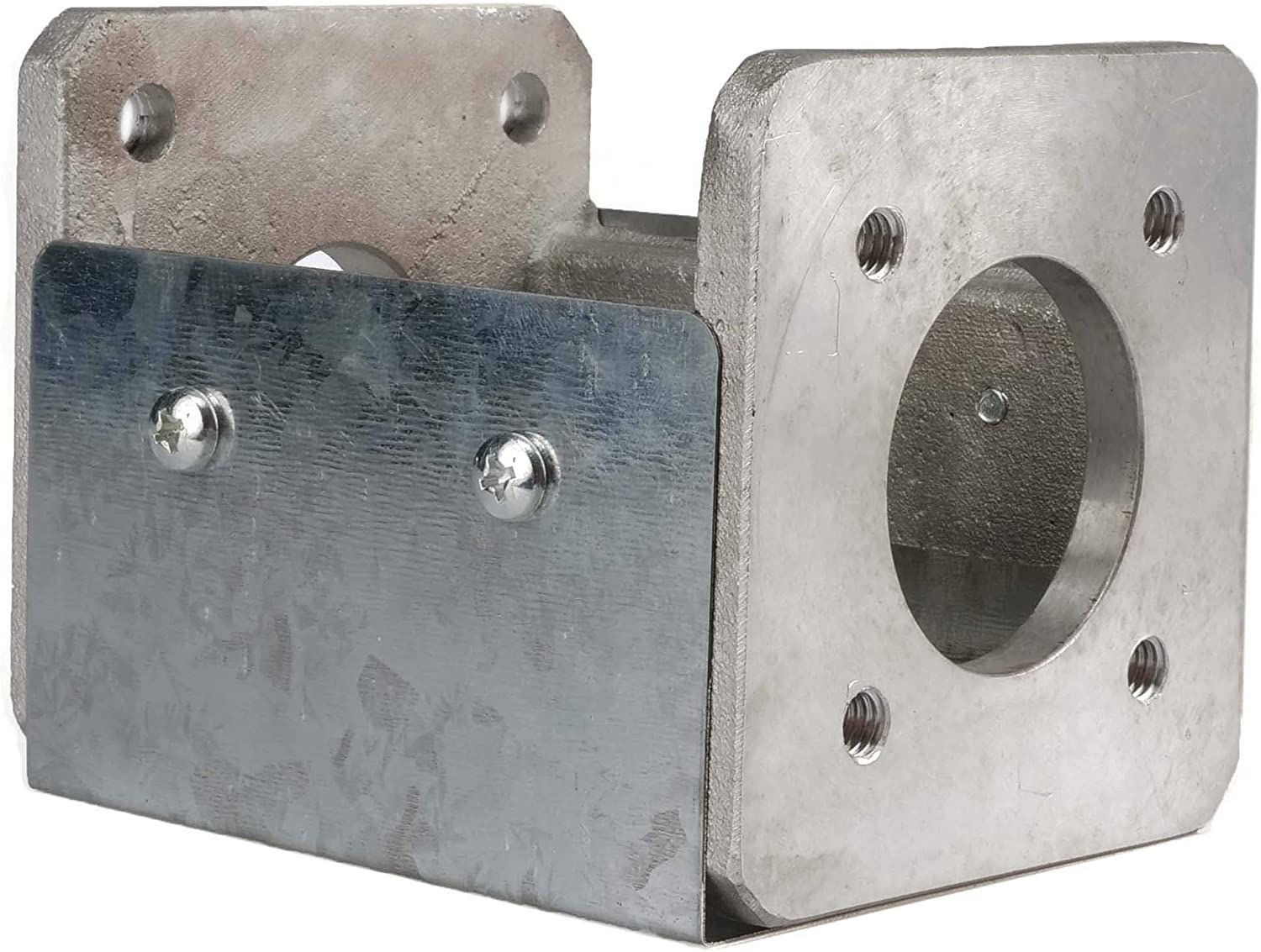 """RuggedMade Hydraulic Log Splitter Pump Mount Bracket for Up to 6.5HP Engines, 4.5"""" Long"""
